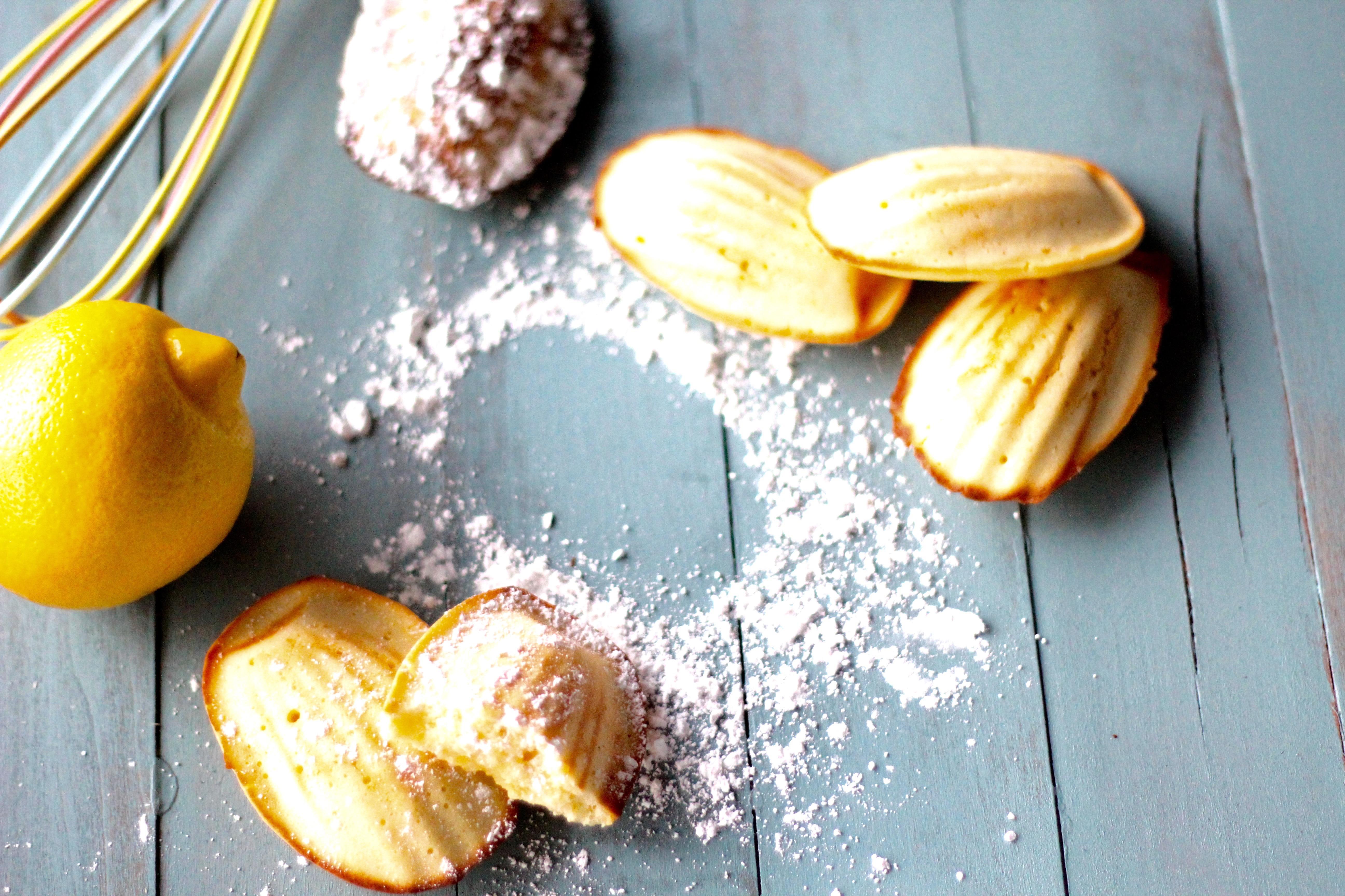 Lemon Madeleines | Blade\'s Culinary Creations